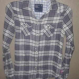 American Eagle Outfitters collared blouse